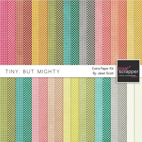 Tiny, But Mighty - Extra Paper Kit