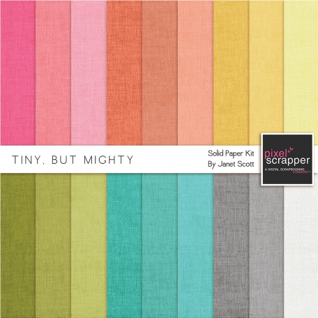 Tiny, But Mighty - Solids Kit