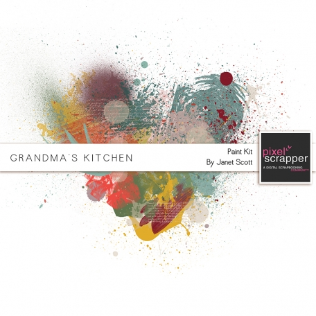 Grandma's Kitchen - Paint Kit