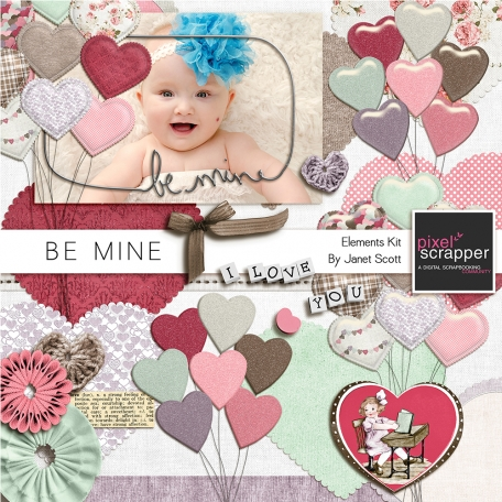 Be Mine - Elements Kit