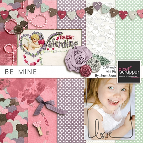 Be Mine - Former February 2014 Blogtrain Freebie