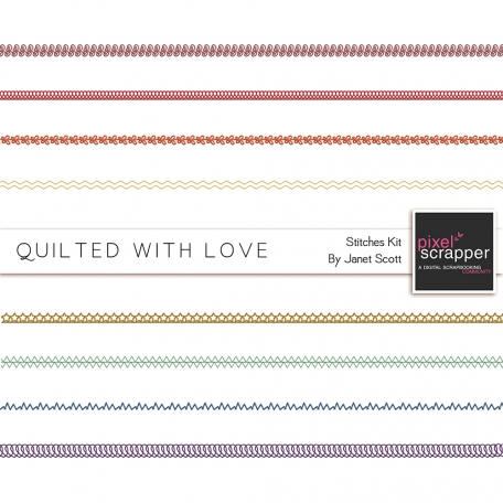 Quilted With Love - Stitches Kit