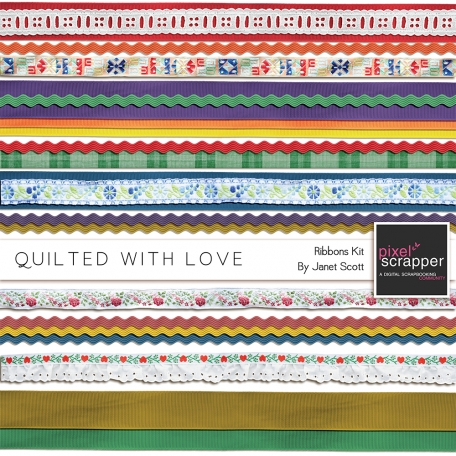 Quilted With Love - Ribbon Kit