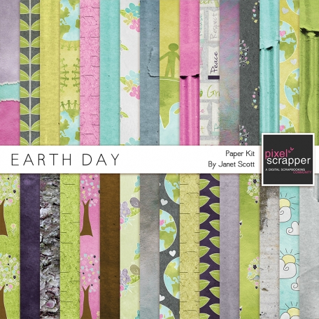 Earth Day - Paper Kit