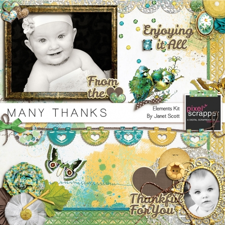 Many Thanks - Elements Kit