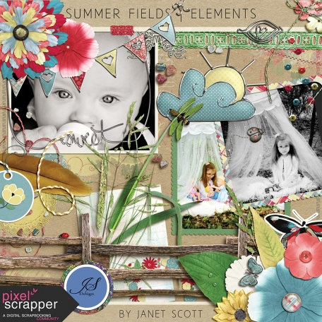 Summer Fields - Elements Kit