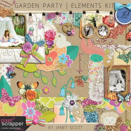 Garden Party - Elements Kit