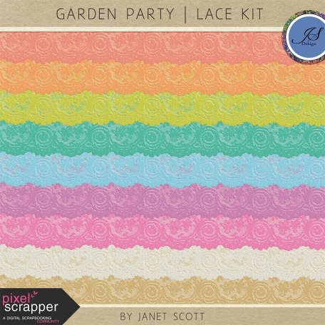 Garden Party - Lace Kit