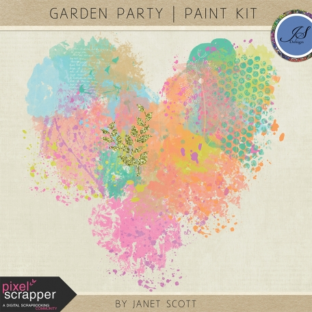 Garden Party - Paint Kit