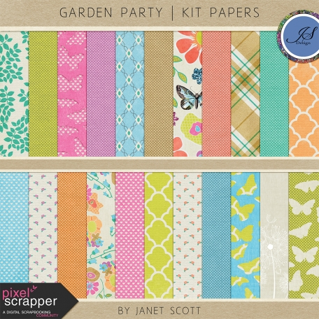 Garden Party - Paper Kit