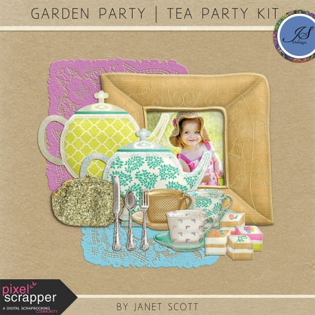 Garden Party - Tea Party Set