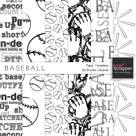 Baseball Papers Templates