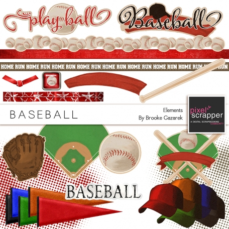 Baseball Elements Kit