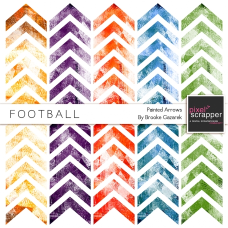 Football Painted Arrows Kit