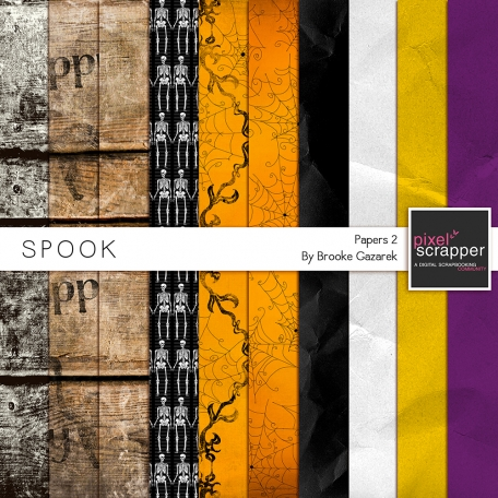 Spook Papers 02 Kit