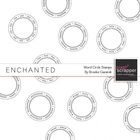 Enchanted Circle Stamps Kit
