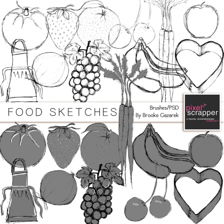 Food Sketches Kit