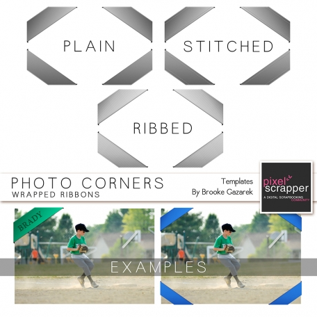 Photo Corners Template Kit