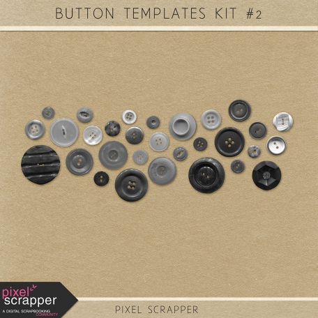 Buttons Kit #2 (Templates)