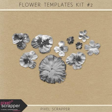 Flower Kit #2 (Templates)