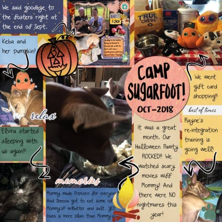 Camp Sugrfoot Monthly Oct 18