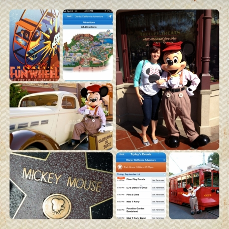 Me & Mickey in Disney California