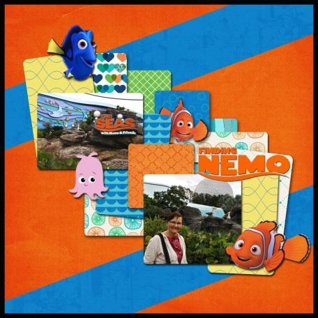 Mom & Nemo at Epcot