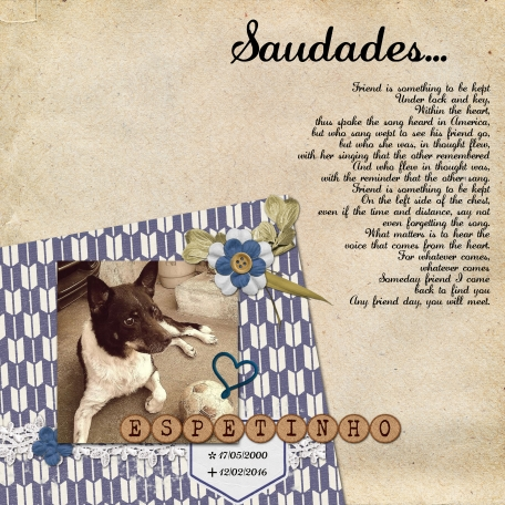 Saudades... the most beautiful and painful word of Portuguese