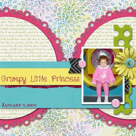 Grumpy Little Princess