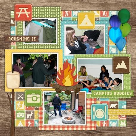 Camping Birthday 2