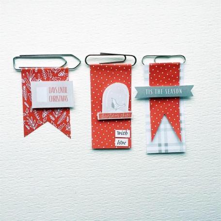 Paper clip flags