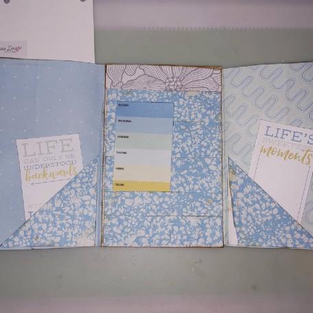 Journal Card Keeper Folio 4