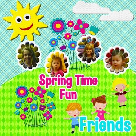 spring time fun & friends