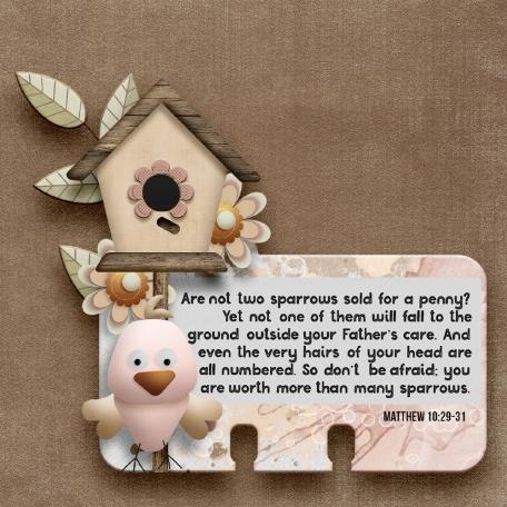 Love Birds - Rolodex Card