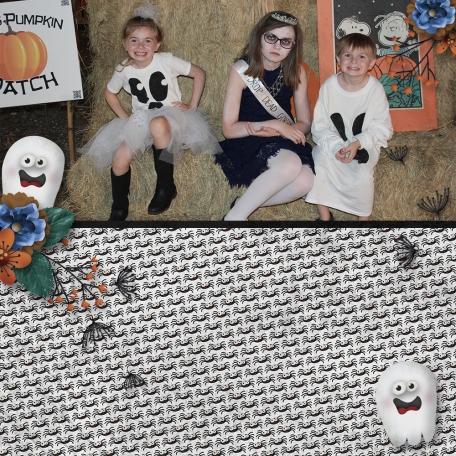 A Night In October - spooky kids