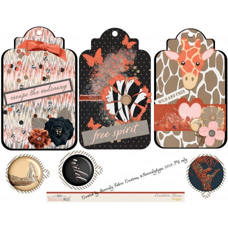 Wild About Prayer Journaling Tags