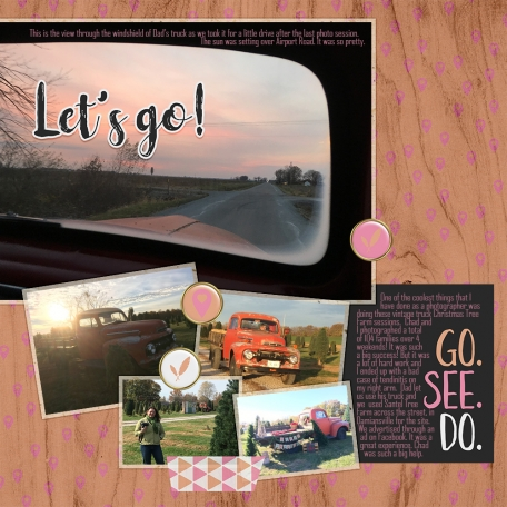 September Layout Challenge- August Kits