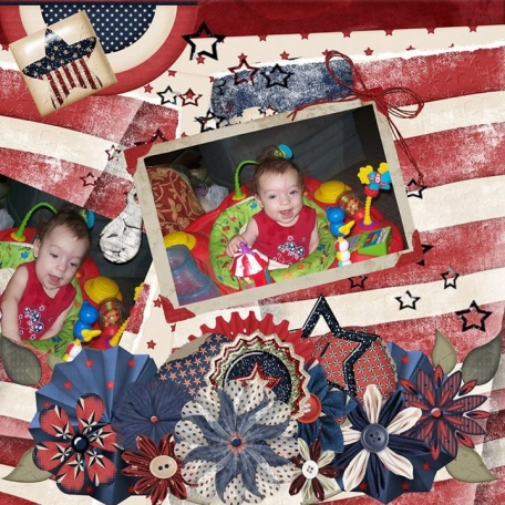 Cassi's first July 4th
