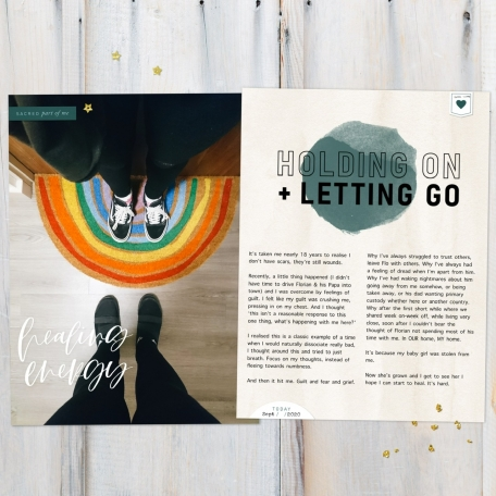 Holding on & letting go