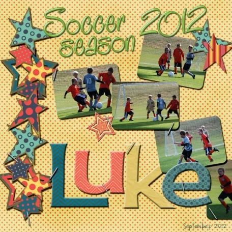 Soccer season 2012