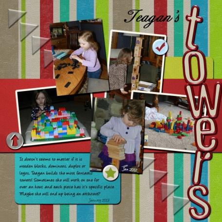Teagan's towers