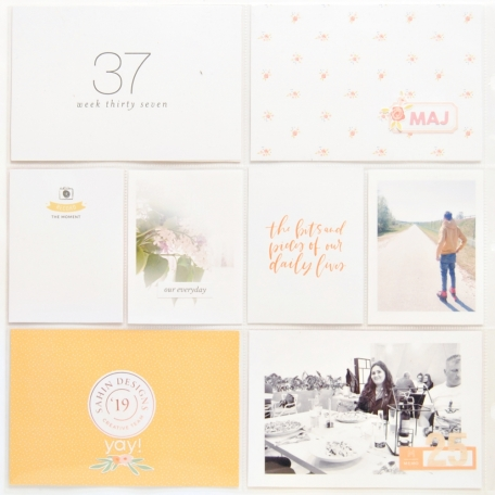 May 2019 - Project Life page with Sahin Designs