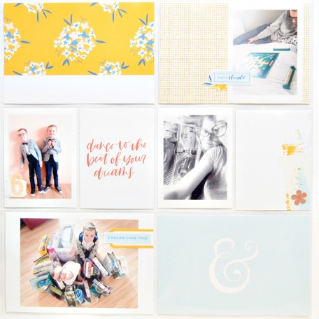 Project Life page with Reverie collection