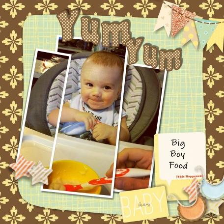 Yum Yum Big Boy Food