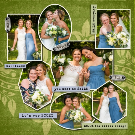 Bridesmaids in Shapes