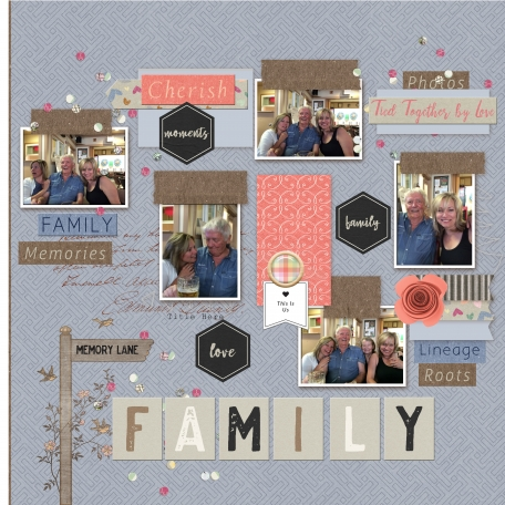 Layout Challenge - Template March 2021