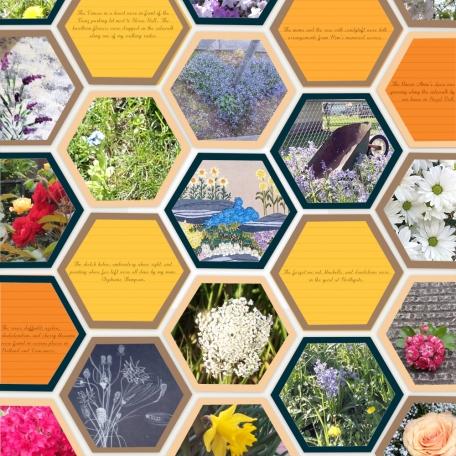 A Bee's Dream Scrapbook Layout