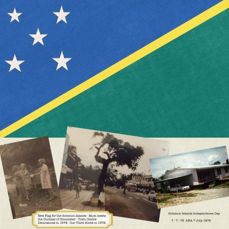 Day 16 - 1978 Solomon Islands Independence