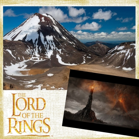 Day 71 LOTR in NZ at Mount Doom
