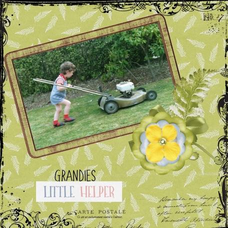 Grandie's Little Helper